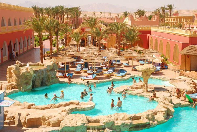 Отели Египта с аквапарком Хургада Alf Leila Wa Leila, 4 звезды