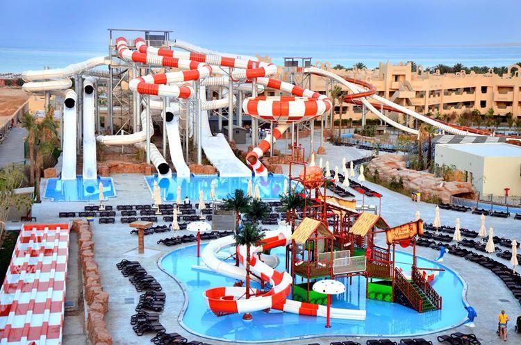 Отели Египта с аквапарком Шарм-эль-Шейх Coral Sea Water World Resort, 5 звёзд