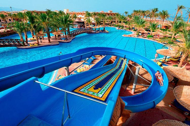 Отели Египта с водными горками Шарм-эль-Шейх Sea Beach Aqua Park, 4 звезды
