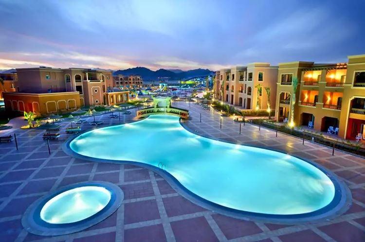 Отели Египта с водными горками Шарм-эль-Шейх Sea Club Aqua Park & Spa, 5 звёзд