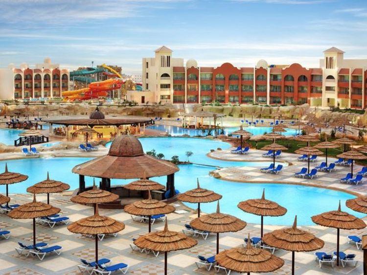 Отели Египта с водными горками Шарм-эль-Шейх Tirana Aqua Park Resort, 4 звезды