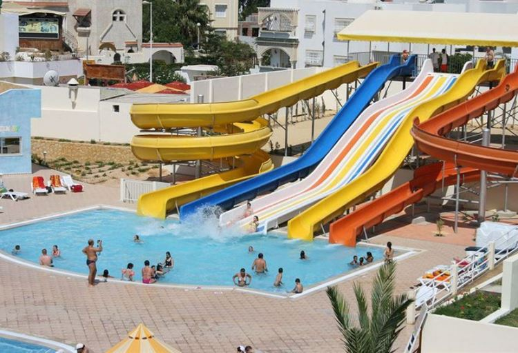Отели Туниса с водными горками, Omar Khayam Club