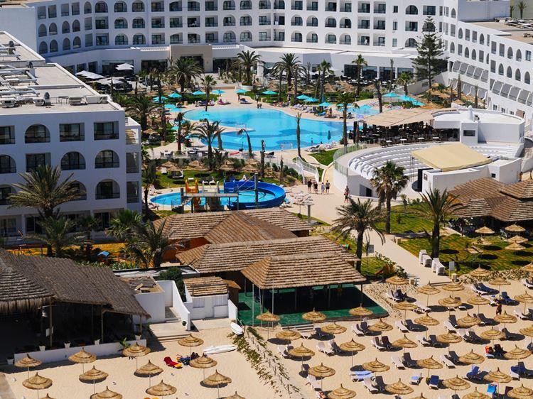 Отели Туниса с аквапарком, Vincci Nozha Beach and Spa