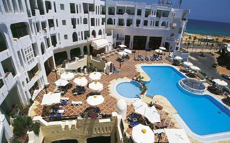 Отели Туниса с аквапарком, Yasmine Beach