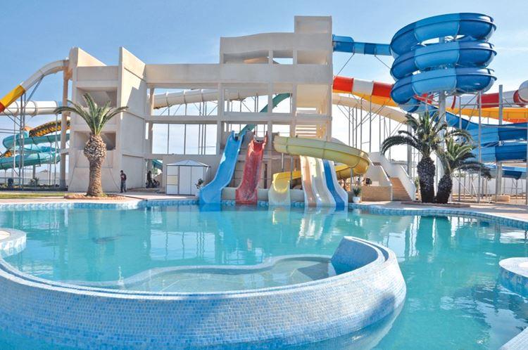 Отели Туниса с водными горками, SplashWorld Venus Beach - All Inclusive