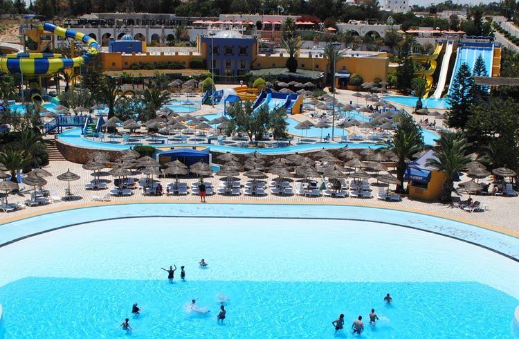 Аквапарк Туниса Acqua Palace