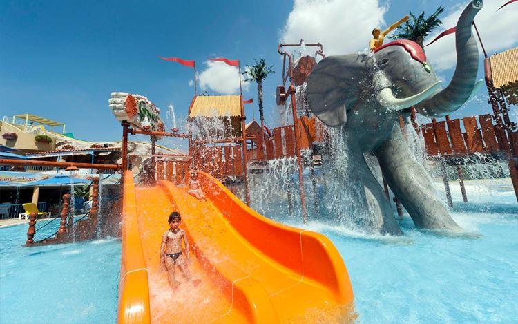 Мини-аквапарк Туниса Aqualand