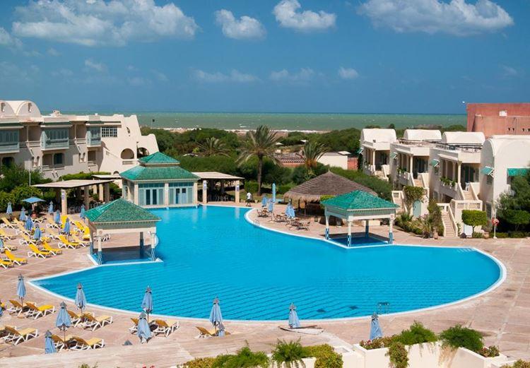 Отели Туниса с аквапарком, Carthage Thalasso Resort
