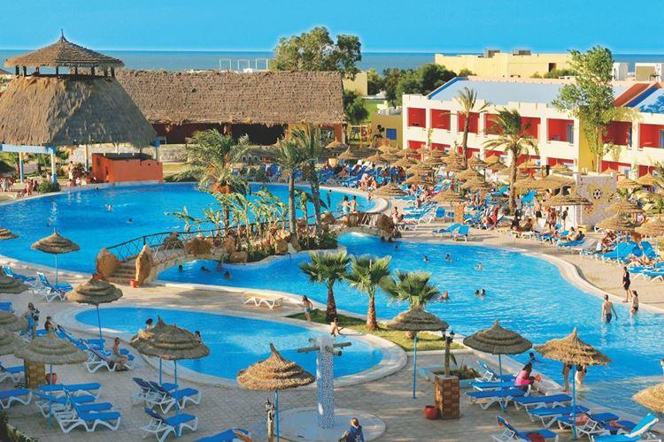 Отели Туниса с аквапарком, Caribbean World Borj Cedria - All Inclusive