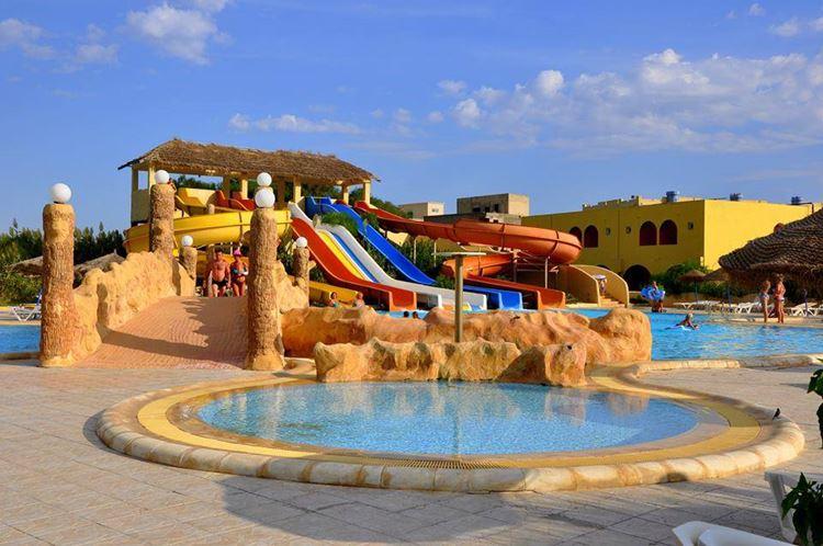 Отели Туниса с водными горками, Caribbean World Borj Cedria - All Inclusive