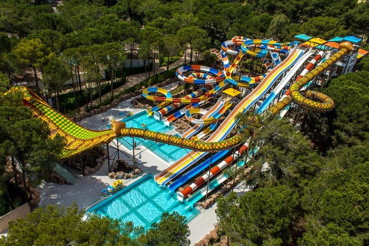 Отель Турции с аквапарком Nirvana Lagoon Villas Suites & SPA (5 звёзд)