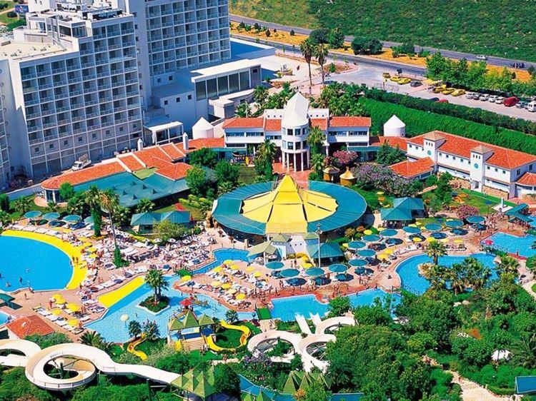 Отель Турции с аквапарком Hotel Su & Aqualand (5 звёзд)