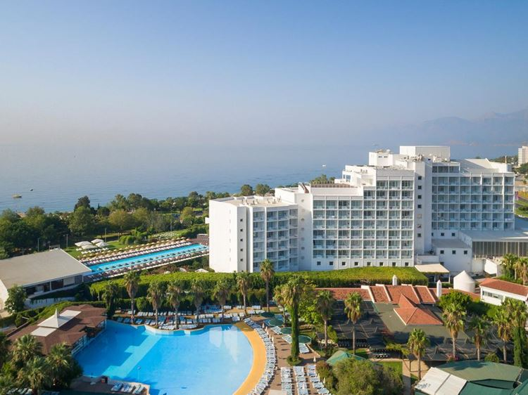 Отель Турции с водными горками Hotel Su & Aqualand (Анталья)