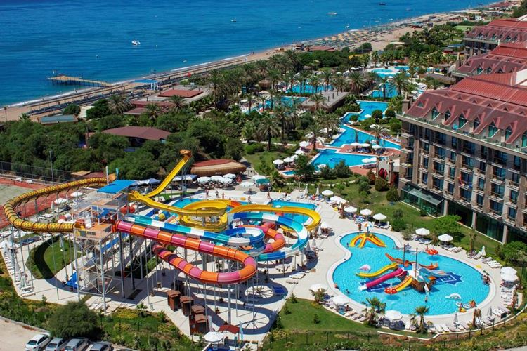 Отель Турции с аквапарком Nashira Resort Hotel & Spa (5 звёзд)