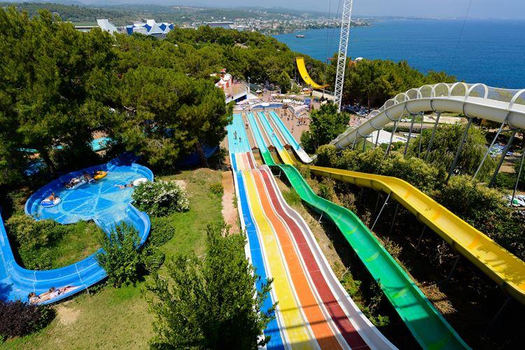 Отель Турции с водными горками Water Planet Hotel & Aquapark (Аланья/Анталия)