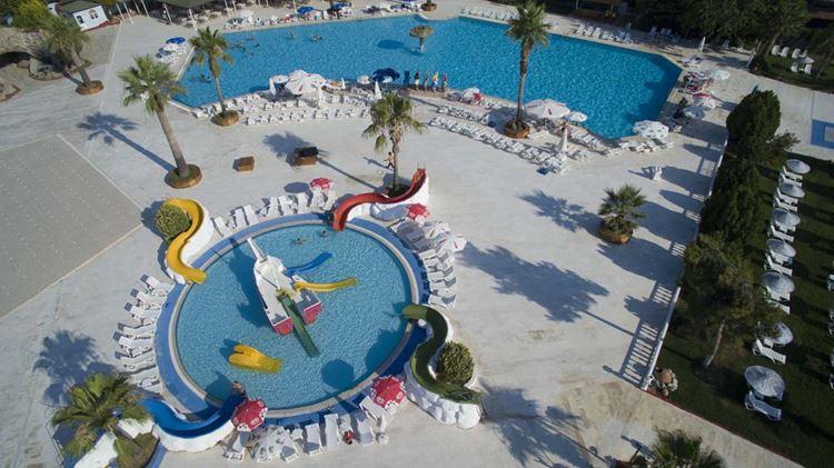 Отель Турции с аквапарком Risus Aqua Beach Resort Hotel (3 звезды)