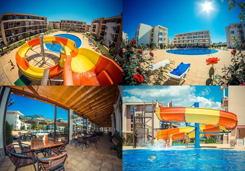 Отели Болгарии с аквапарком: Waterpark Fort Apartments (Солнечный берег)