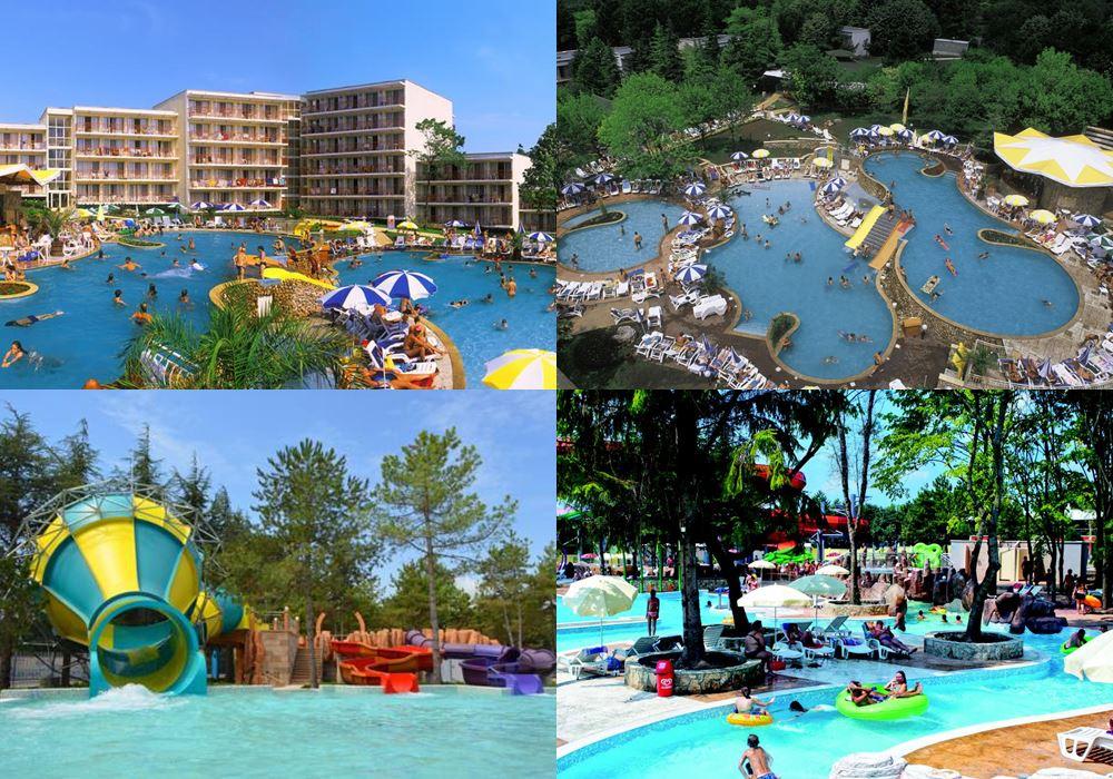 Отели Болгарии с аквапарком: Vita Park Hotel - Aqua Park & All Inclusive (Албена)