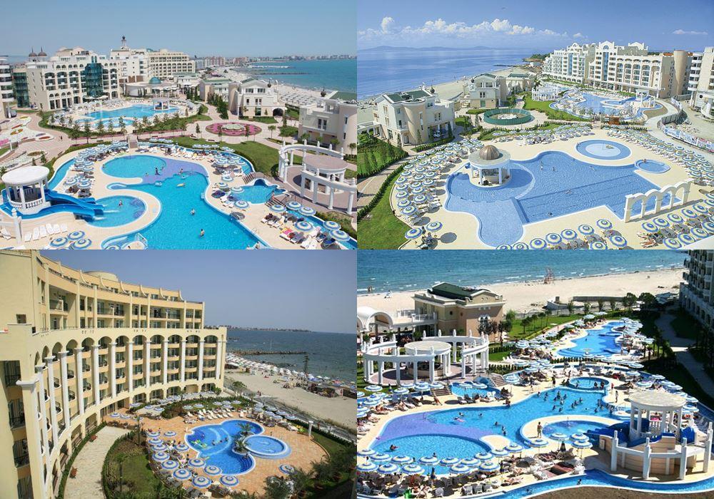 Отели Болгарии с аквапарком: Sunset Resort (Поморие)