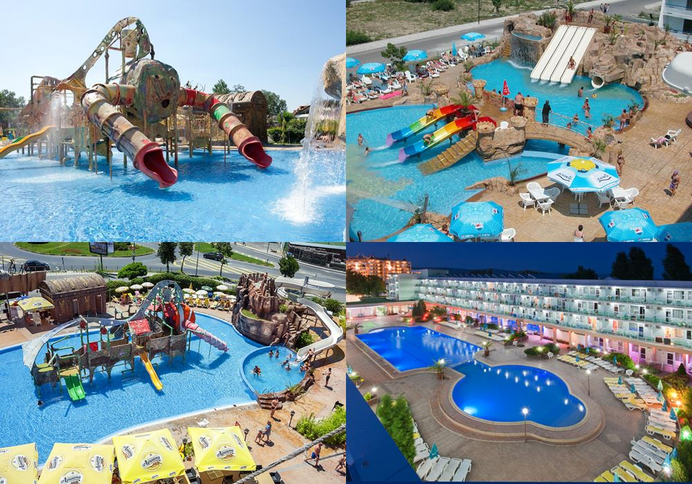 Отели Болгарии с аквапарком: Kotva Hotel (Солнечный берег)