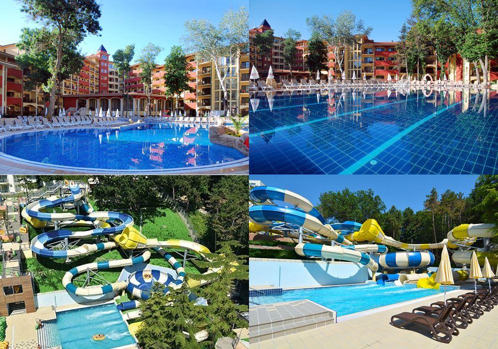 Отели Болгарии с аквапарком: Grifid Hotel Bolero & AquaPark (Варна/Золотые пески)