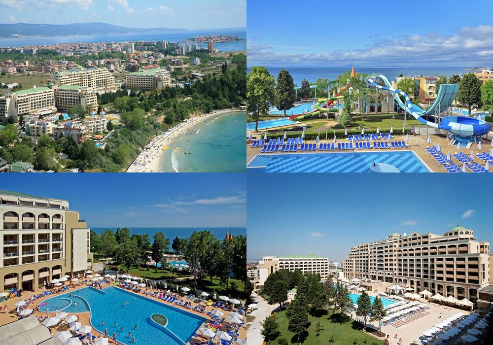 Отели Болгарии с аквапарком: Sol Nessebar Mare Resort & Aquapark - All inclusive (Несебр)