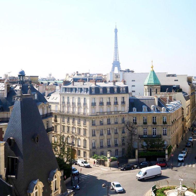 Отели Парижа с видом на Эйфелеву башню: Hôtel San Régis