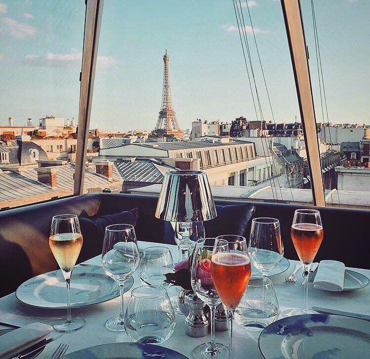 Отели Парижа с видом на Эйфелеву башню: The Peninsula Paris