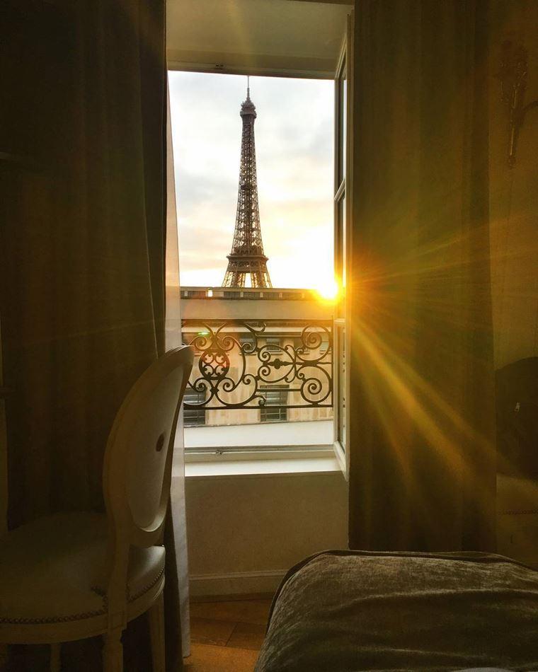 Отели Парижа с видом на Эйфелеву башню: HôtelEiffel Trocadéro