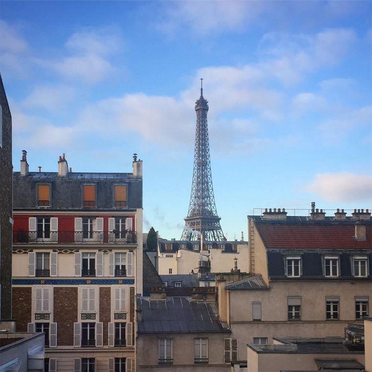 Отели Парижа с видом на Эйфелеву башню: Les Jardins Eiffel
