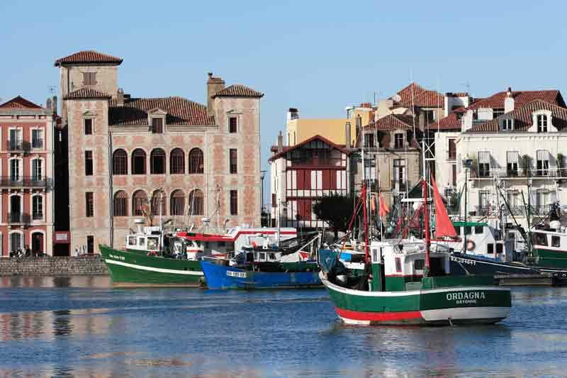 Города Франции на Атлантическом побережье - Сен-Жан де Люз