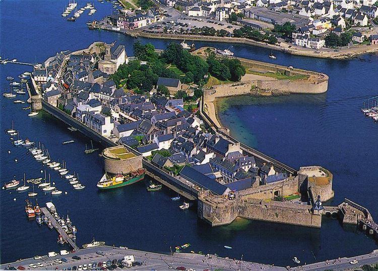 Города Франции на Атлантическом побережье - Конкарно