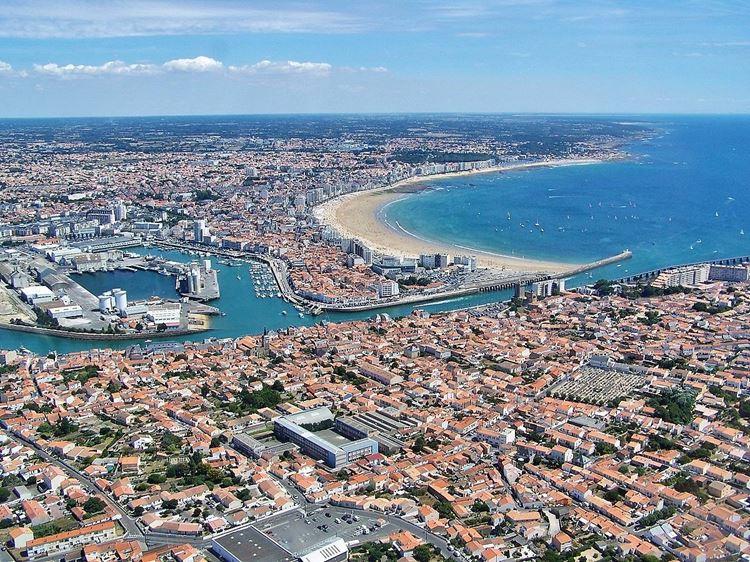 Города Франции на Атлантическом побережье - Ле-Сабль-д'Олон