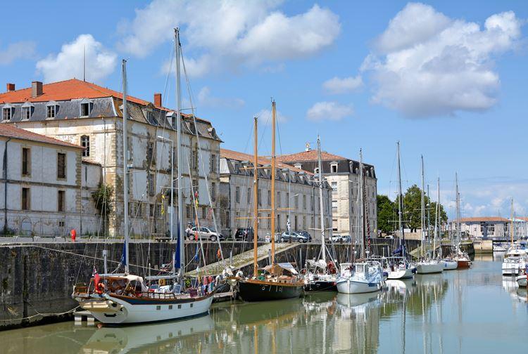 Города Франции на Атлантическом побережье - Рошфор