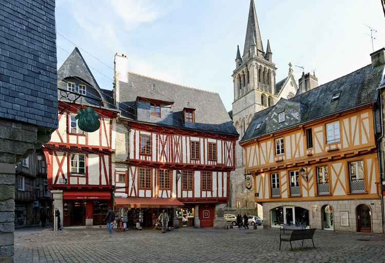 Города Франции на Атлантическом побережье - Ванн