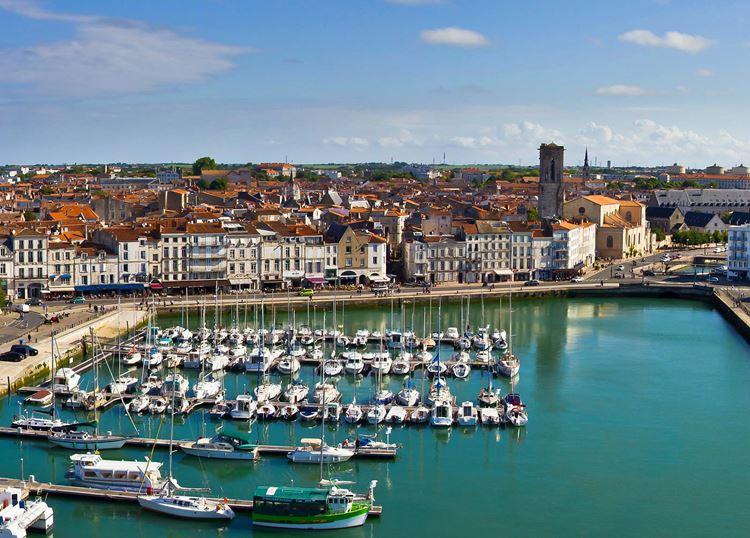 Города Франции на Атлантическом побережье - Ла-Рошель