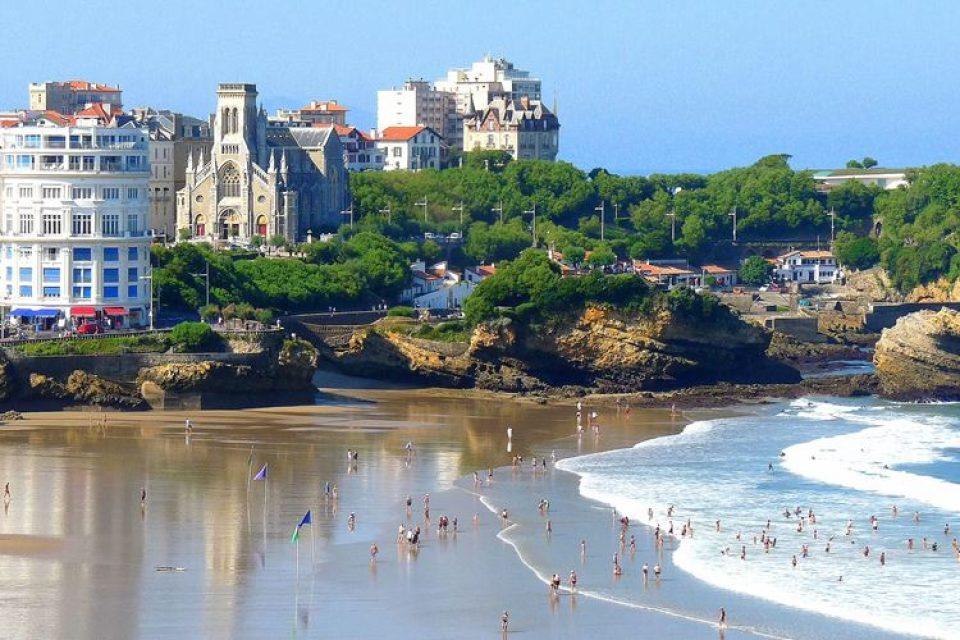 Города западной Франции на побережье Атлантического океана