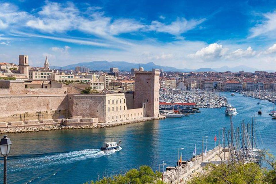 Города южной Франции на побережье Средиземного моря