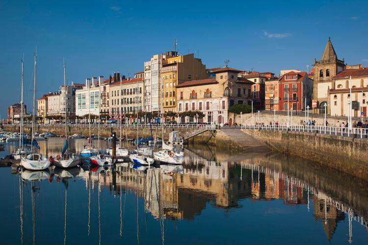 Города Испании на побережье Атлантического океана - Хихон