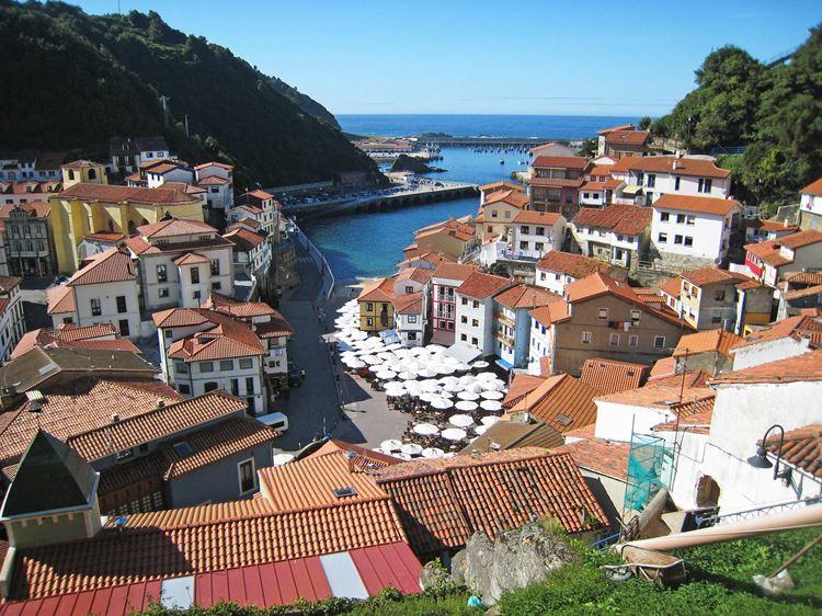 Города Испании на побережье Атлантического океана - Кудильеро