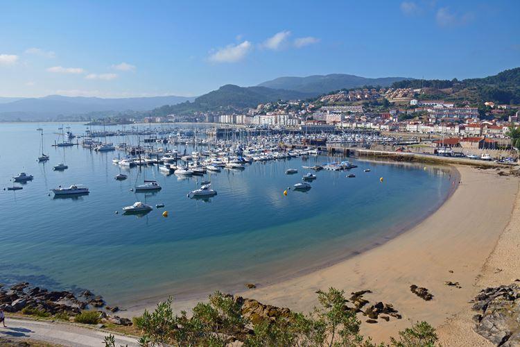 Города Испании на побережье Атлантического океана - Байона