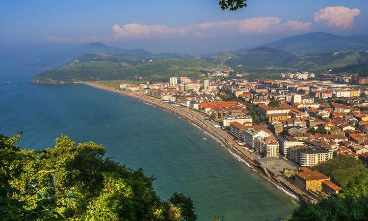 Города Испании на побережье Атлантического океана - Сараутц