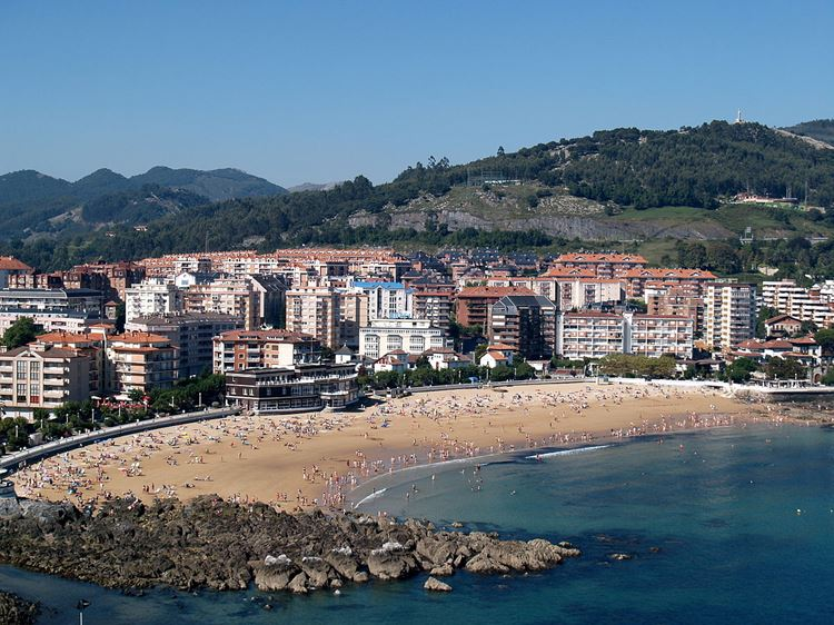 Города Испании на побережье Атлантического океана - Кастро-Урдьялес