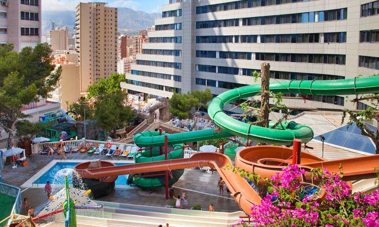 Отель Испании с аквапарком Hotel Magic Aqua Rock Gardens (Бенидорм/Коста Бланка)