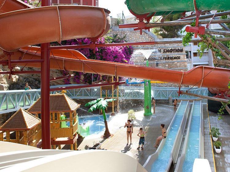 Отель Испании с водными горками Hotel Magic Aqua Rock Gardens (Бенидорм/Коста Бланка)