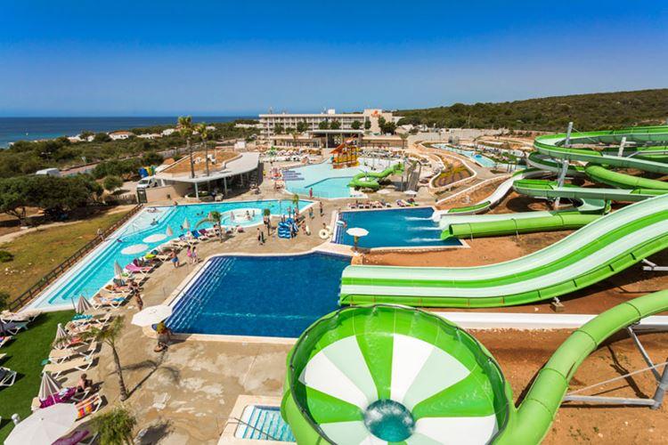 Отель Испании с аквапарком Hotel Sur Menorca (Менорка/Пунта-Прима)