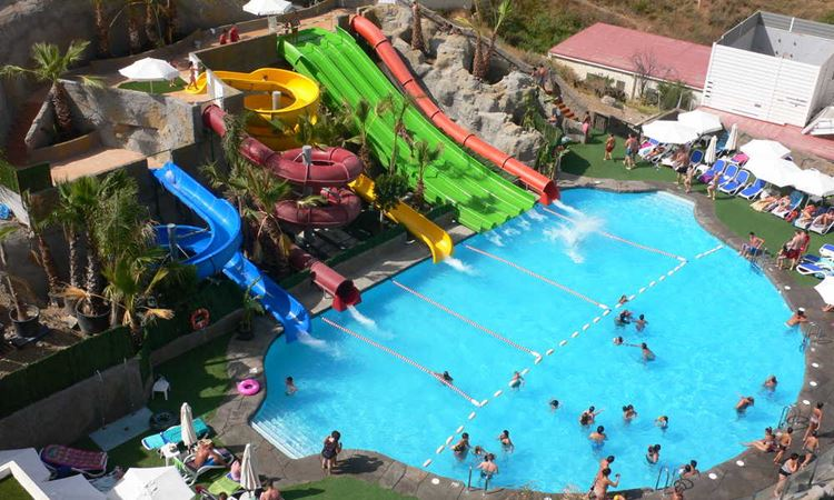 Отель Испании с аквапарке Hotel Los Patos Park (Бенальмадена/Коста-дель-Соль)