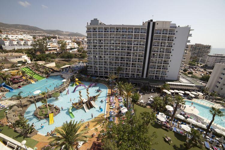 Отель Испании с водными горками Hotel Los Patos Park (Бенальмадена/Коста-дель-Соль)