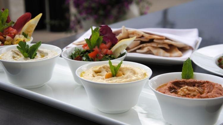 Вкус Ливана в ресторане Saltz в отеле The Dolder Grand