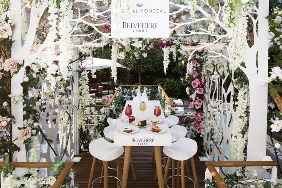 Belvedere приглашает на дегустацию коктейлей в отеле Le Royal Monceau – Raffles Paris